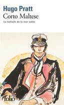 Couverture du livre « Corto Maltese » de Hugo Pratt aux éditions Gallimard