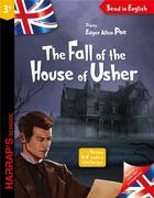 Couverture du livre « The fall of the house of Usher » de Garret White et Cyril Nouvel aux éditions Harrap's