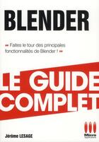Couverture du livre « Blender » de Jerome Lesage aux éditions Micro Application