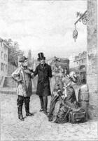 Couverture du livre « Un début dans la vie » de Honoré De Balzac aux éditions