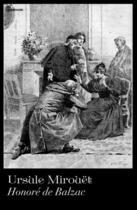 Couverture du livre « Ursule Mirouët » de Honoré De Balzac aux éditions
