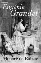 Couverture du livre « Eugénie Grandet » de Honoré de Balzac aux éditions