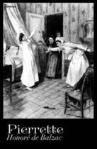 Couverture du livre « Pierrette » de Honoré De Balzac aux éditions