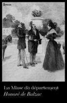 Couverture du livre « La Muse du département » de Honoré De Balzac aux éditions