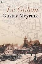 Couverture du livre « Le Golem » de Gustav Meyrink aux éditions