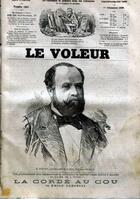 Couverture du livre « La Corde au cou » de Emile Gaboriau aux éditions