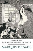 Couverture du livre « Justine ou Les Malheurs de la vertu » de Marquis De Sade aux éditions
