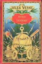 Couverture du livre « Mathias Sandorf » de Jules Verne aux éditions