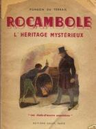 Couverture du livre « L'Héritage Mystérieux » de Pierre Ponson du Terrail aux éditions