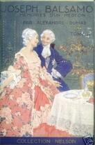 Couverture du livre « Joseph Balsamo - Tome II (Les Mémoires d'un médecin) » de Alexandre Dumas aux éditions