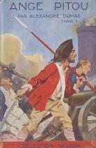 Couverture du livre « Ange Pitou - Tome I (Les Mémoires d'un médecin) » de Alexandre Dumas aux éditions