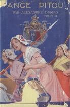 Couverture du livre « Ange Pitou - Tome II (Les Mémoires d'un médecin) » de Alexandre Dumas aux éditions