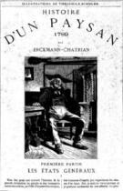 Couverture du livre « Histoire d'un paysan - 1789 - Les États généraux » de Erckmann-Chatrian aux éditions