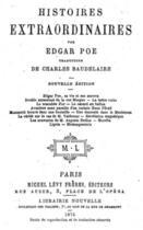 Couverture du livre « La Lettre Volée » de Edgar Allan Poe aux éditions