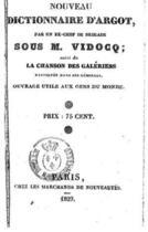 Couverture du livre « Nouveau dictionnaire d'argot » de Bras-de-Fer aux éditions