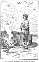 Couverture du livre « Le Robinson de douze ans » de Jeanne-Sophie Mallès de Beaulieu aux éditions