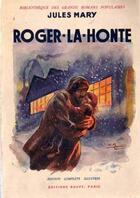 Couverture du livre « Roger-la-Honte » de Jules Mary aux éditions