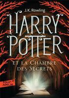 Couverture du livre « Harry Potter T.2 ; Harry Potter et la chambre des secrets » de J. K. Rowling aux éditions Gallimard-jeunesse