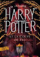 Couverture du livre « Harry Potter T.4 ; Harry Potter et la coupe de feu » de J. K. Rowling aux éditions Gallimard-jeunesse