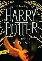 Couverture du livre « Harry Potter T.5 ; Harry Potter et l'ordre du phénix » de J. K. Rowling aux éditions Gallimard-jeunesse
