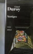 Couverture du livre « Vertiges » de Lionel Duroy aux éditions Julliard