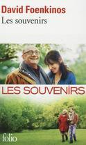 Couverture du livre « Les souvenirs » de David Foenkinos aux éditions Gallimard