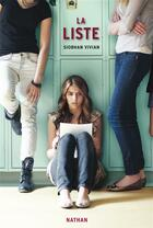 Couverture du livre « La liste » de Vivian Siobhan aux éditions Nathan