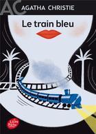 Couverture du livre « Le train bleu » de Agatha Christie aux éditions Hachette Jeunesse