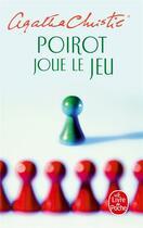 Couverture du livre « Poirot joue le jeu » de Agatha Christie aux éditions Lgf