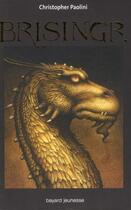 Couverture du livre « L'Héritage t.3 ; Brisingr » de Christopher Paolini aux éditions Bayard Jeunesse