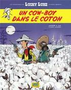Couverture du livre « Les aventures de Lucky Luke d'après Morris T.9 ; un cow-boy dans le coton » de Jul et Achde aux éditions Lucky Comics