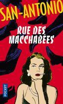 Couverture du livre « Rue des Macchabées » de San-Antonio aux éditions Pocket