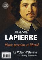 Couverture du livre « Fanny Stevenson ; le voleur d'eternite » de Alexandra Lapierre aux éditions Pocket