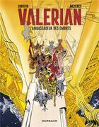 Couverture du livre « Valérian T.6 ; Valérian t.6 ; l'ambassadeur des ombres » de Pierre Christin et Jean-Claude Mézières aux éditions Dargaud