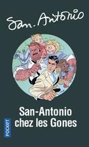 Couverture du livre « San-Antonio chez les « gones » » de San-Antonio aux éditions Pocket
